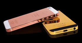 iPhone 5 d'oro