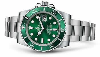Rolex Submariner Date- Ref. 116610LV - Hulk