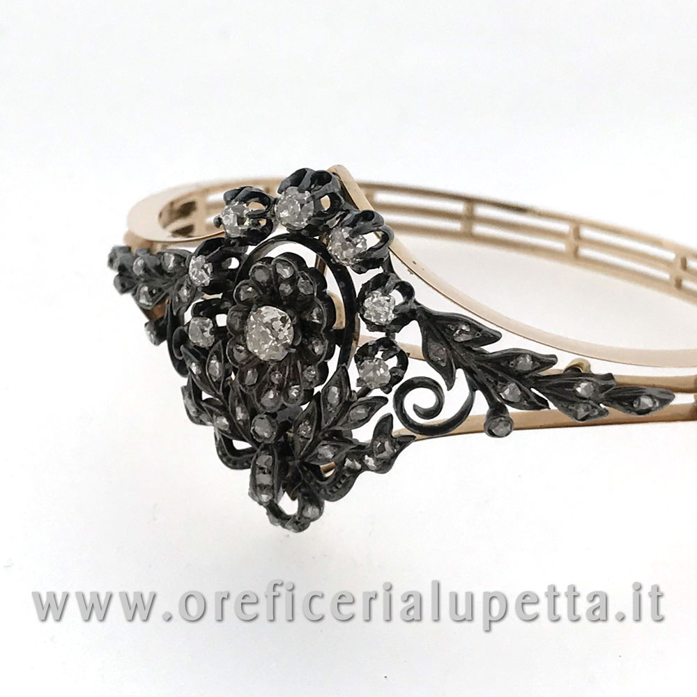 Bracciali d'epoca diamanti 3