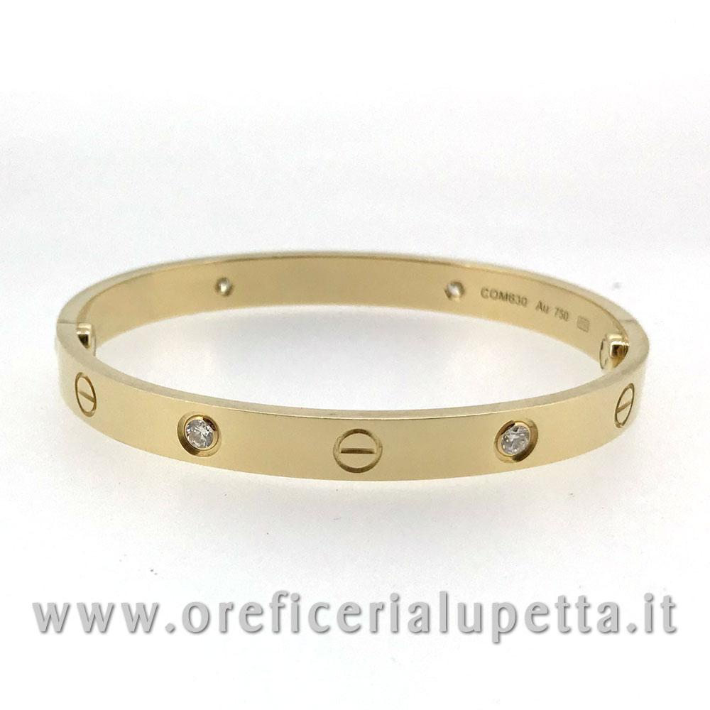 selezione migliore f4adc 64a50 Bracciali Love Cartier 4 diamanti