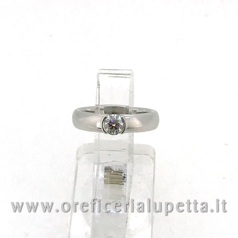 Anelli Solitario  Tiffany ct 0,39