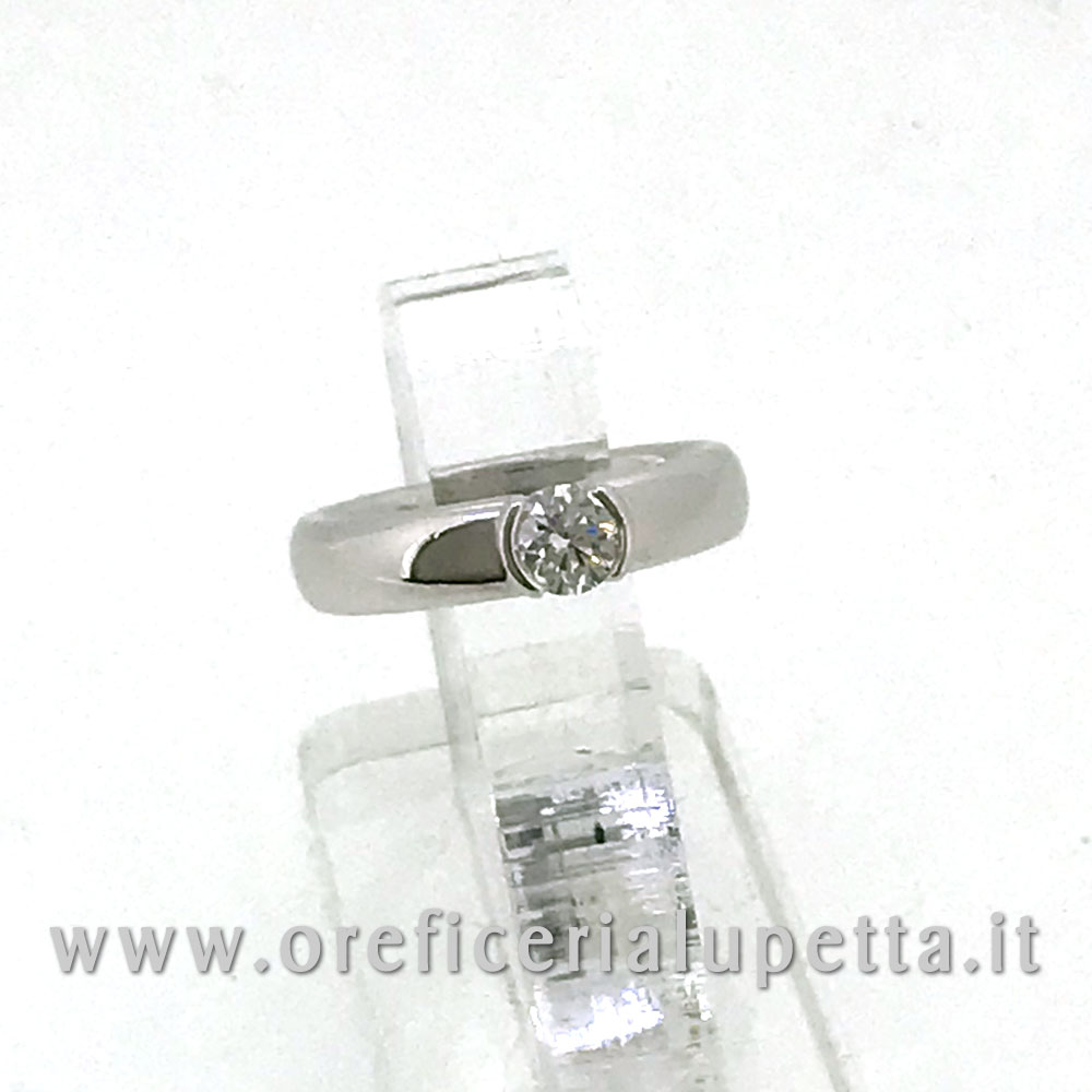 Anelli Solitario Tiffany ct 0,39 2