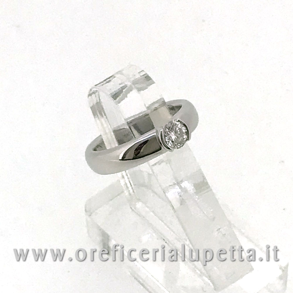 Anelli Solitario Tiffany ct 0,39 3