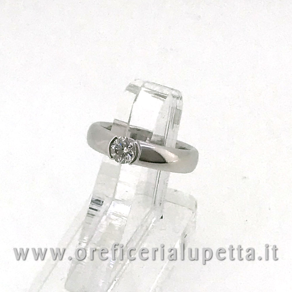 Anelli Solitario Tiffany ct 0,39 4