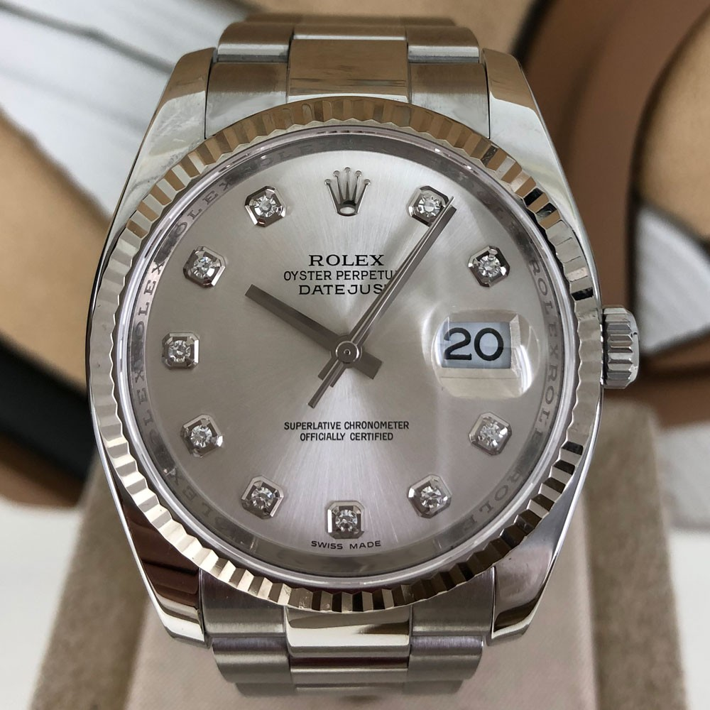 Rolex Datejust Quadrante con brillanti 116234