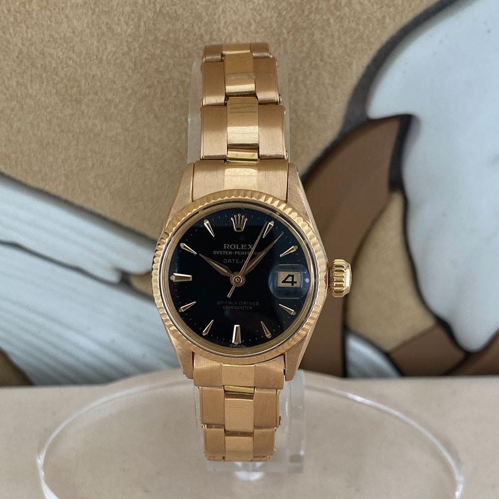 Rolex Datejust Lady Rose Gold 6517 0