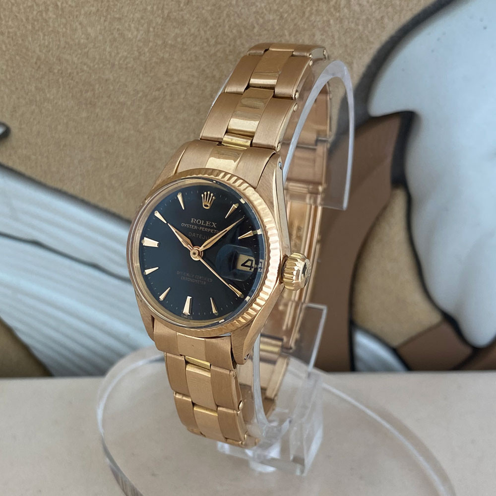 Rolex Datejust Lady Rose Gold 6517 1