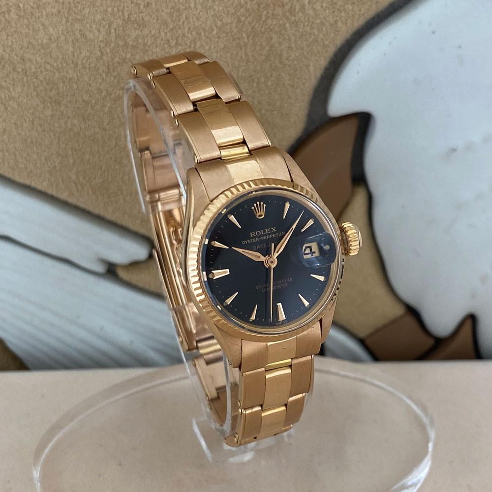 Rolex Datejust Lady Rose Gold 6517 2