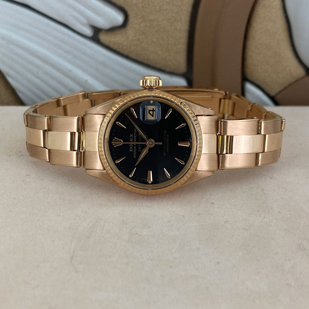 Rolex Datejust Lady Rose Gold 6517 4