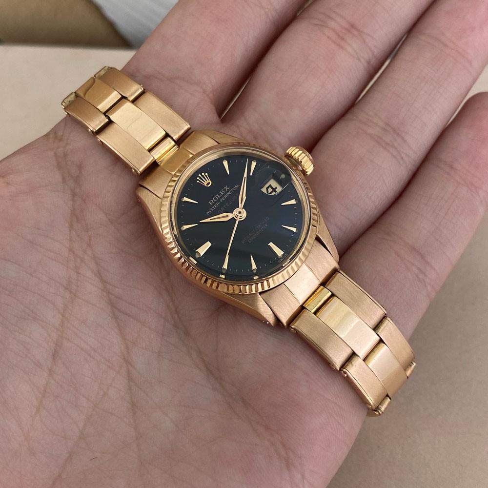 Rolex Datejust Lady Rose Gold 6517 8