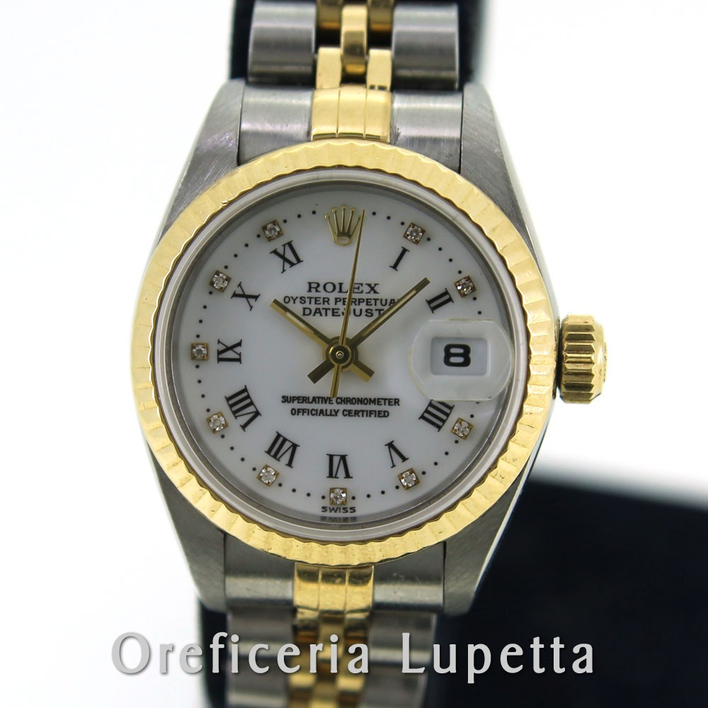 Rolex Datejust Lady Quadrante con brillanti 69173