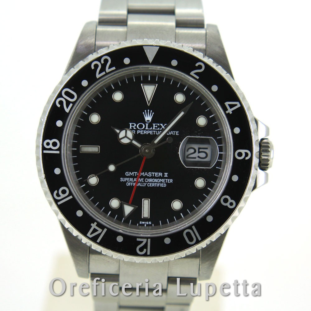 Rolex GMT-Master II Swiss Only 16710
