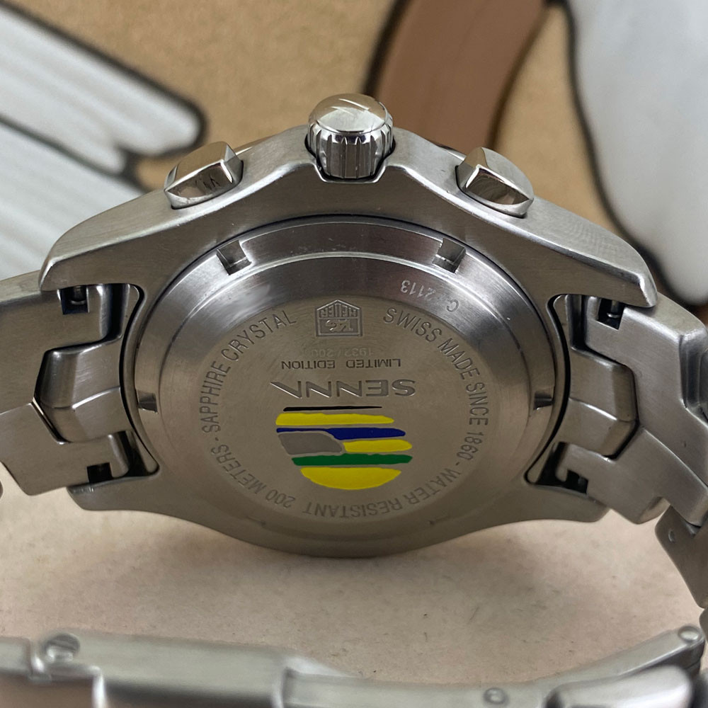 Tag Heuer Link Ayrton Senna Limited Edition CJF2113 5