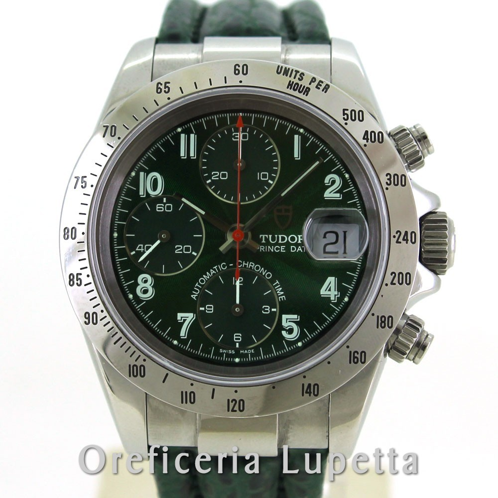 Tudor Prince Date Green Dial 79280P