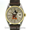 Rolex Datejust Quadrante Mickey Mouse Topolino Aftermarket 16013